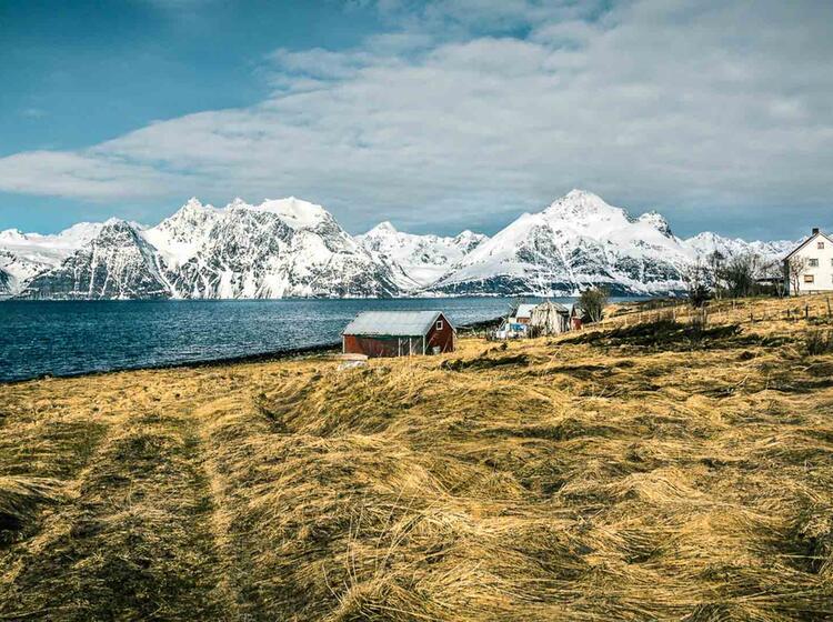 Skitouren Vom Boot Und Von Land In Den Lyngenalpen Mit Bergfu Hrer