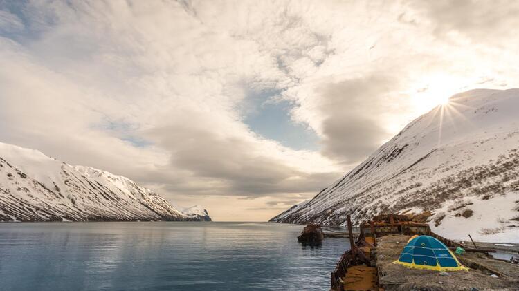 Skitouren Vom Schiff Aus In Kamtchatka