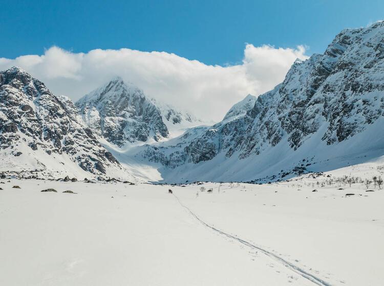 Skitouren Vom Schiff In Lygnen