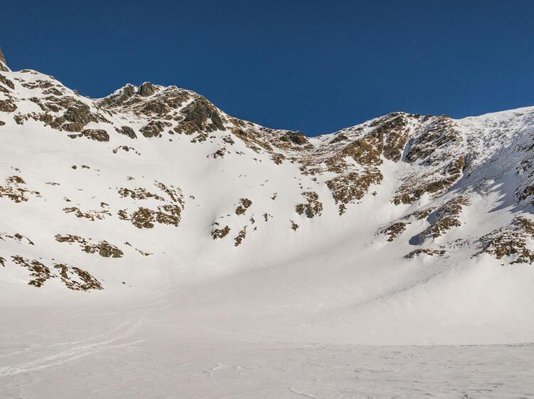 Skitouren Von Balea Lac In Rumaenien