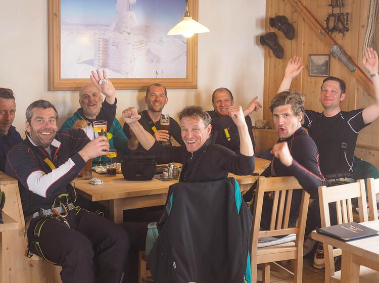 Skitouren Von Der Johannishuette Zum Grossvenediger