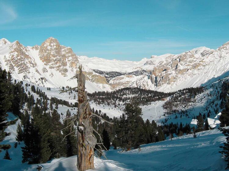 Skitouren Woche Auf Der Lavarella Huette