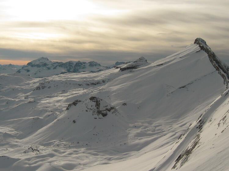 Skitouren Woche In Der Fanes Von Der Lavarella Huette