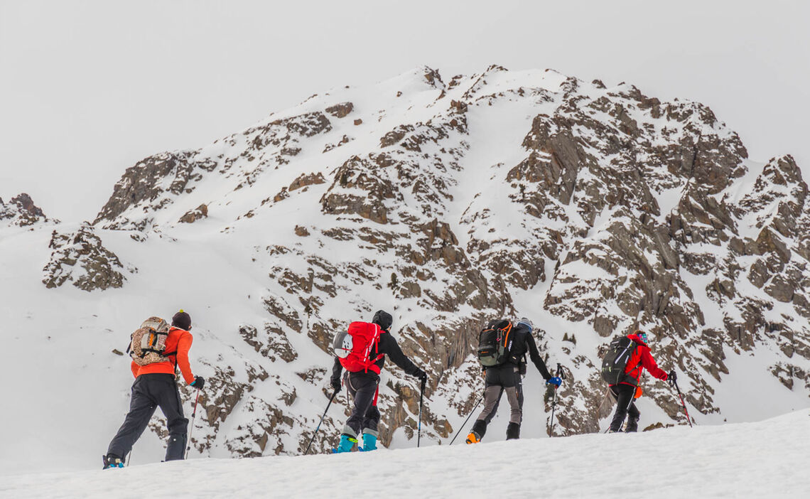 Skitouren Woche Jergalan Kirgistan