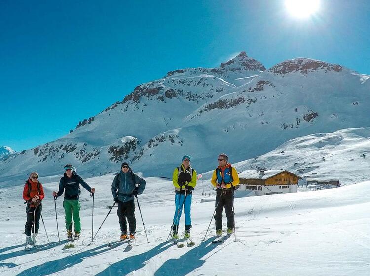 Skitouren Woche Sesvenna Huette Suedtirol 1