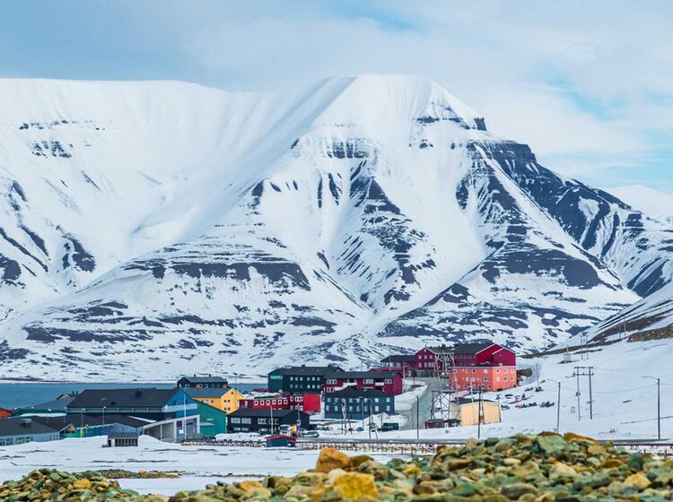 Skitouren Woche Spitzbergen