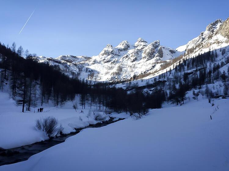 Skitouren Woche Valle Maira Piemont 2