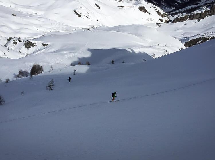 Skitouren Woche Valle Maira Piemont 3