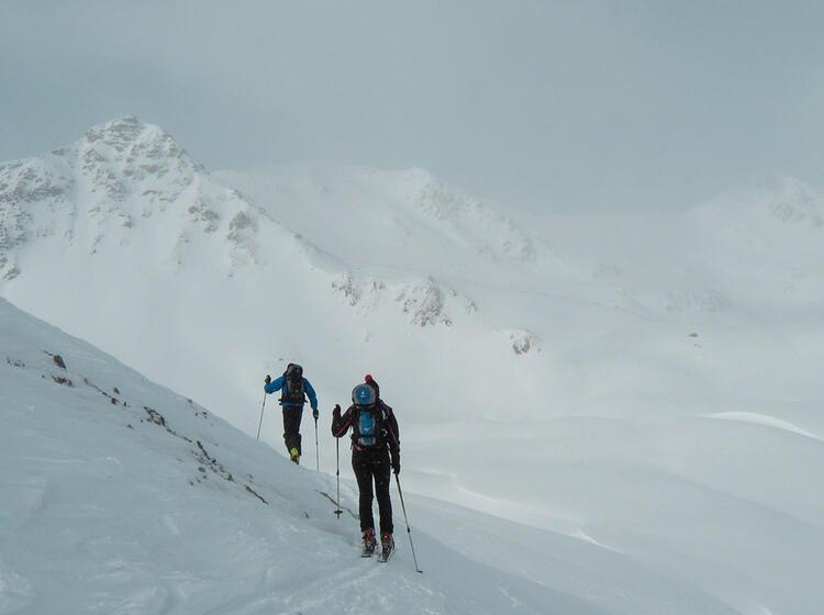 Skitouren Zum Piz Sesvenna Von Der Sesvenna Huette Aus Mit Bergfuehrer