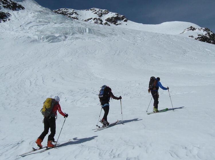 Skitourenfuehrung Cevedale
