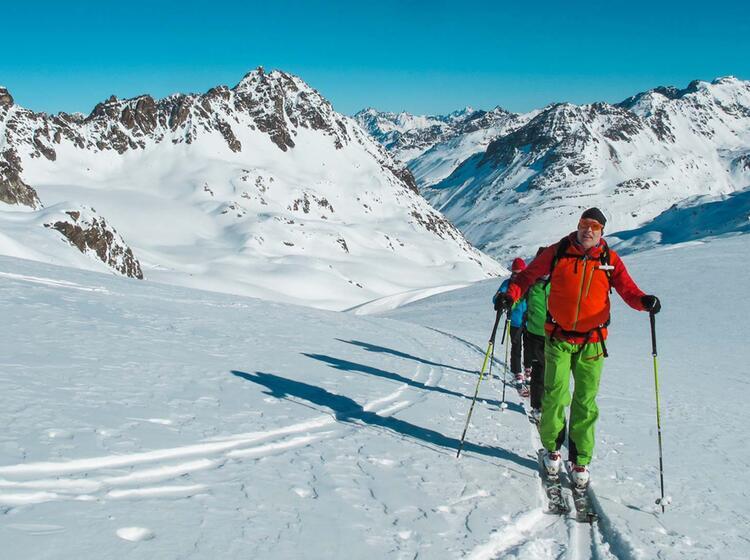 Skitourengebiet Heidelberger Hu Tte In Ischgl