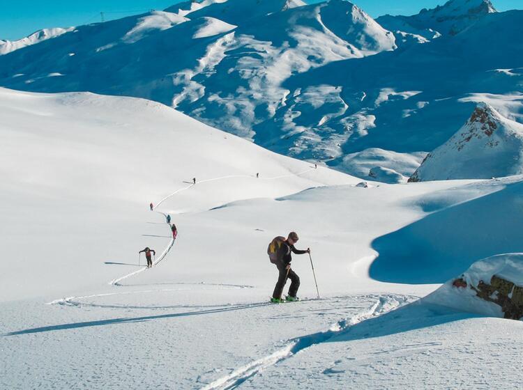 Skitourengehen Lernen Auf Der Heidelberger Hu Tte Am Skitourenkurs
