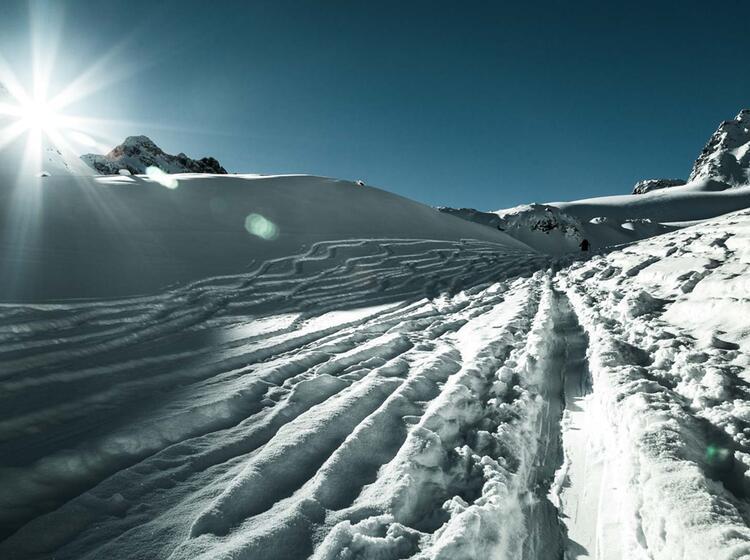 Skitourengehen Lernen In Der Silvretta Am Skitourenkurs