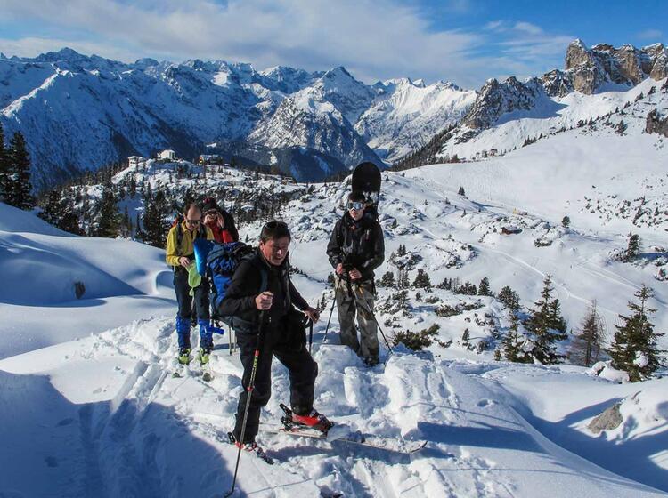Skitourenkurs Fuer Einsteiger