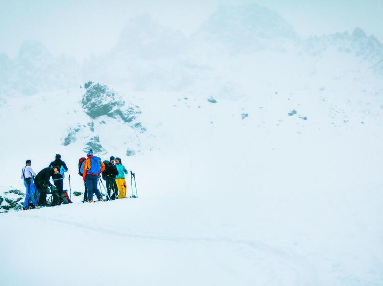 Skitourenkurs In Der Silvretta Von Der Jamtalhuette