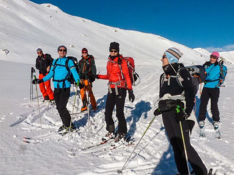 Skitourenkurs Und Tiefschneekurs In Der Silvretta