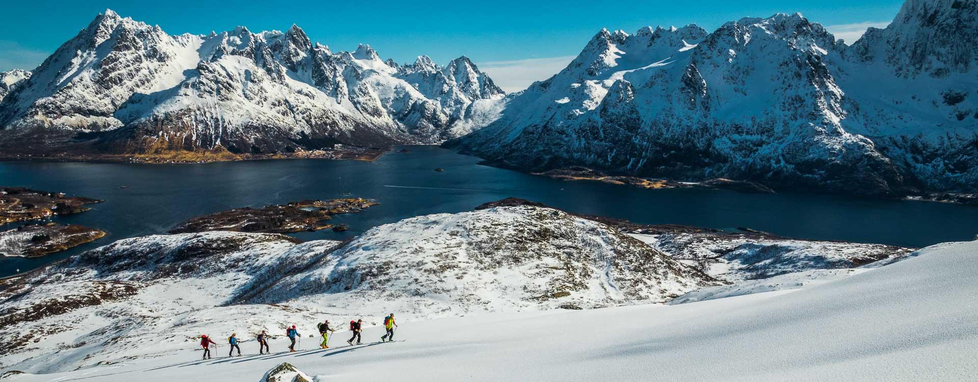 Skitourenreise auf die Lofoten