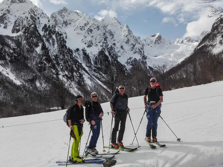 Skitourenreise Montenegro Und Albanien
