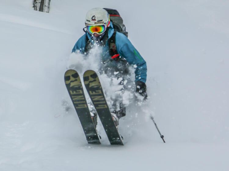 Skitourenreise Nach Sibirien Traum Pulverschnee