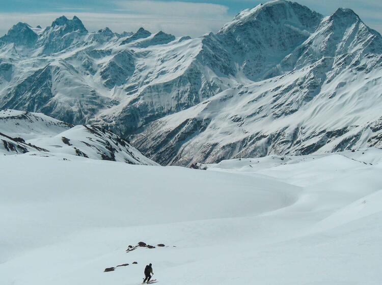 Skitourenreise Russland Elbrus Mit Bergfuehrer
