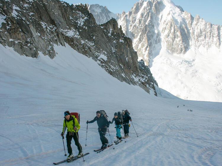 Skitourenwoche Chamonix
