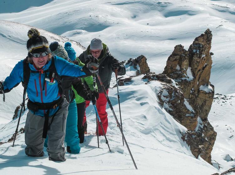Skitourenwoche U Ber Silvester Auf Der Heidelberger Hu Tte