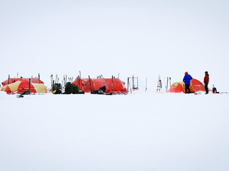 Spitzbergen Expedition Pulka 3