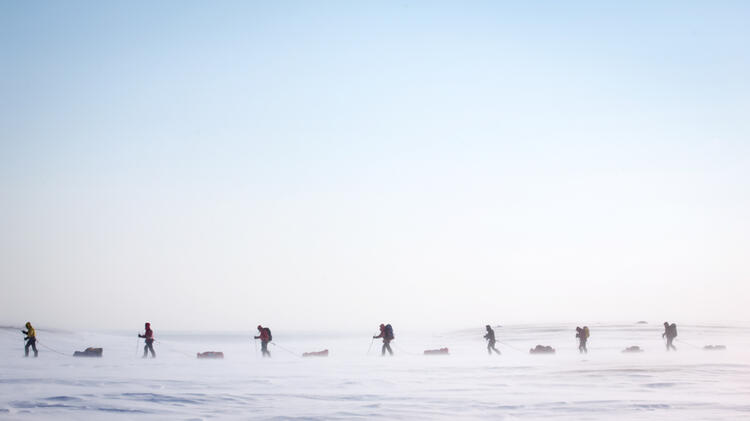Spitzbergen Expedition Pulka