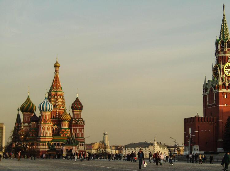 Stadtbesichtigung Auf Der Skitourenreise In Russland