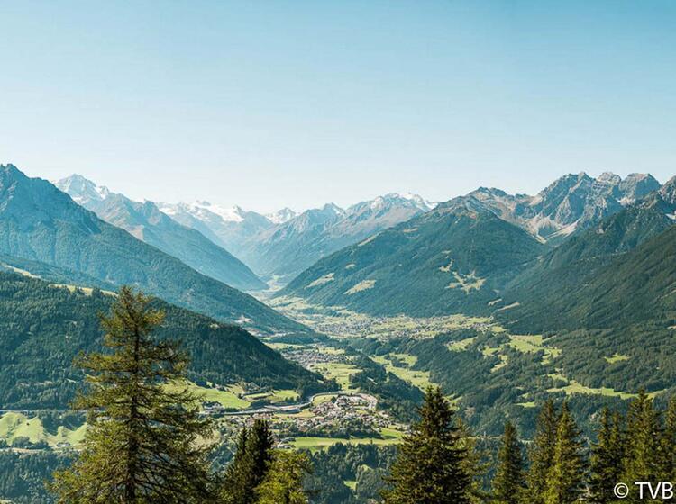 Stubai Tal Tirol Klettersteig Gehen