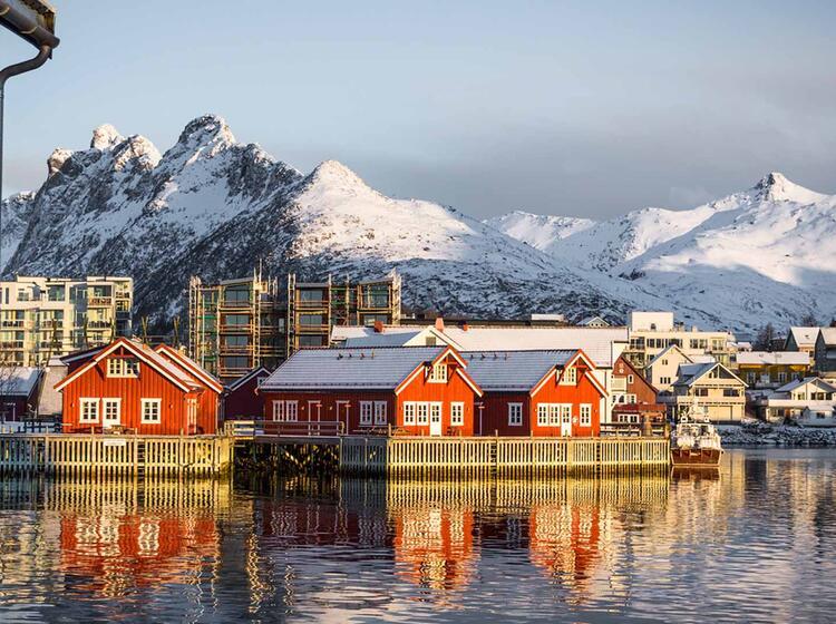 Svolvaer Lofoten Unterkunft