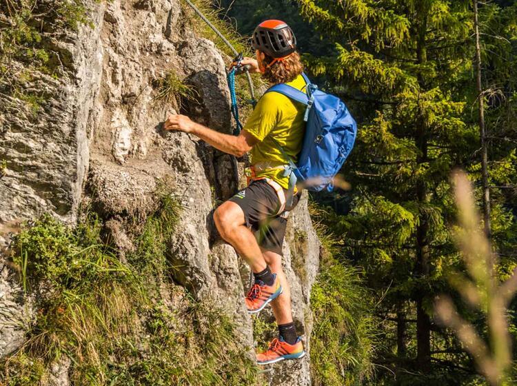 Tageskurs Klettersteig In Berchtesgaden Am Gruenstein