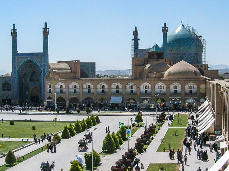 Teheran Und Isfahan Auf Der Trekkingreise Im Iran