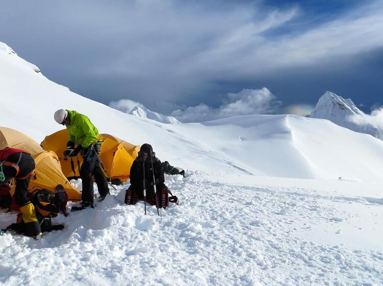 Tibet Expedition Am Cho Oyu