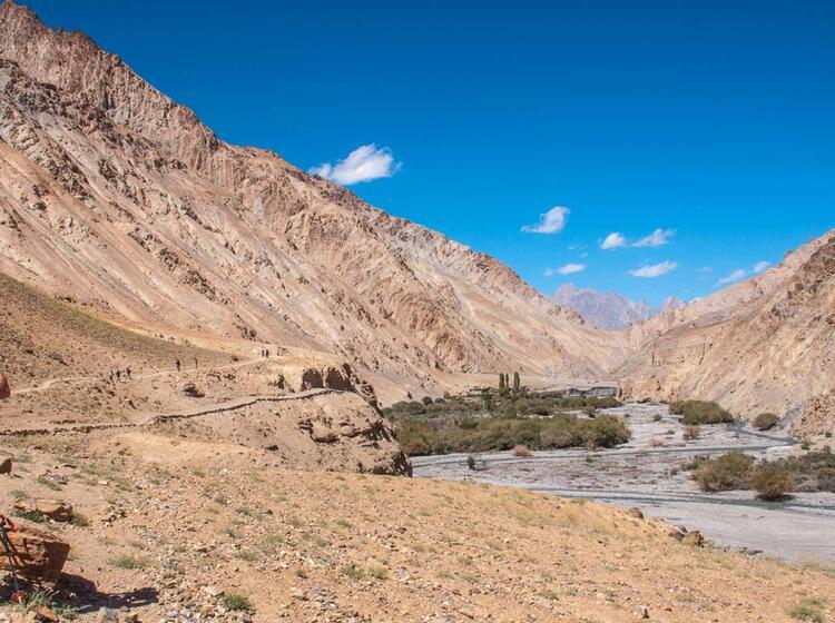 Tibet Reise Mit Fuehrer