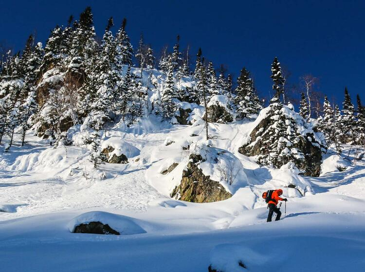 Tiefster Winter In Sibirien Bei Den Skitouren Im Altai Gebirge Luzhba