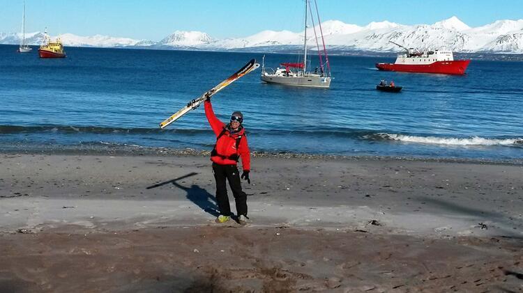 Tobias Zehetmeier Bergfuehrer Auf Skitouren In Norwegen