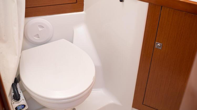 Toilette Auf Der Yacht