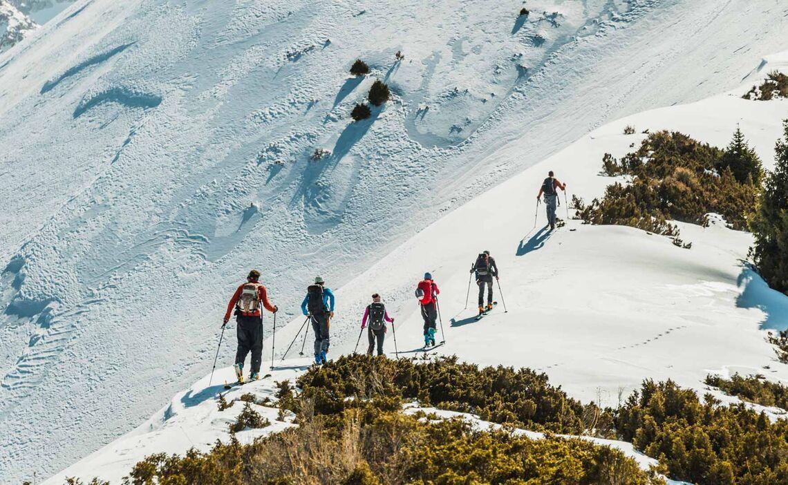 Touren Moeglichkeiten Fuer Skitouren In Kirgistan
