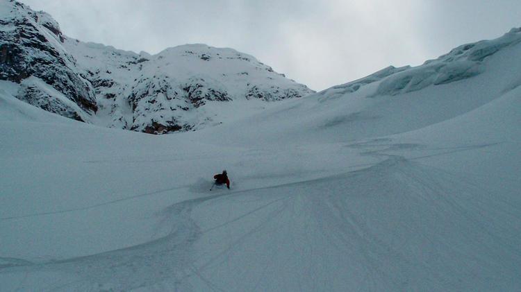 Traum Abfahrt In Kanada Bei Den Skitouren In Den Rocky Mountains