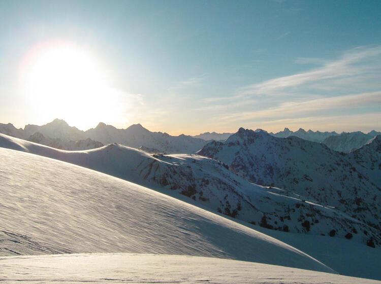Traum Skitouren Verhaeltnisse Am Elbrus