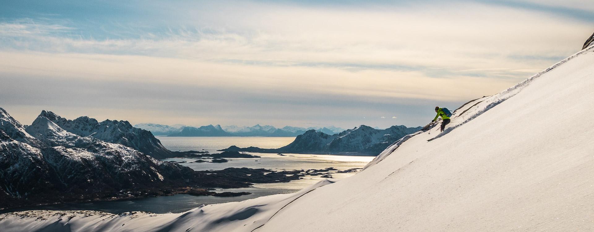 Traumabfahrt auf den Lofoten bis zum Meer