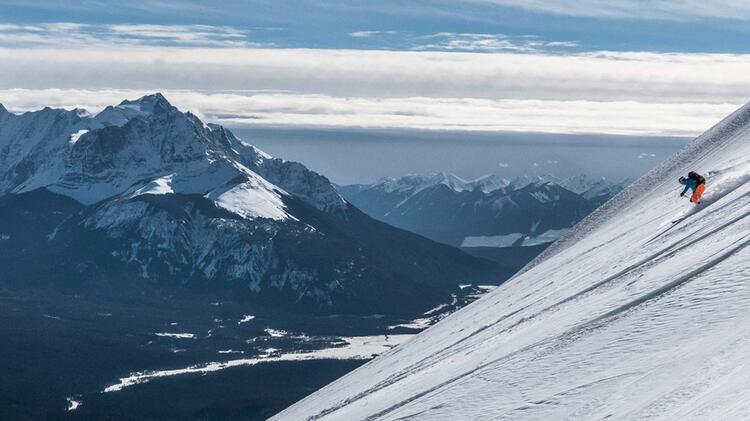 Traumabfahrt Auf Skitour In Kanada Banff