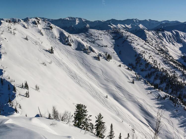 Traumabfahrt Bei Den Skitouren Am Baikalsee