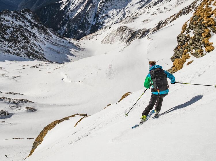 Traumabfahrt Skitour Rumaenien Karpaten