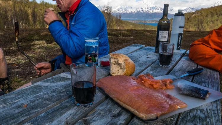 Traumhafte Kulisse Auf Der Wanderreise Lyngen Alpen