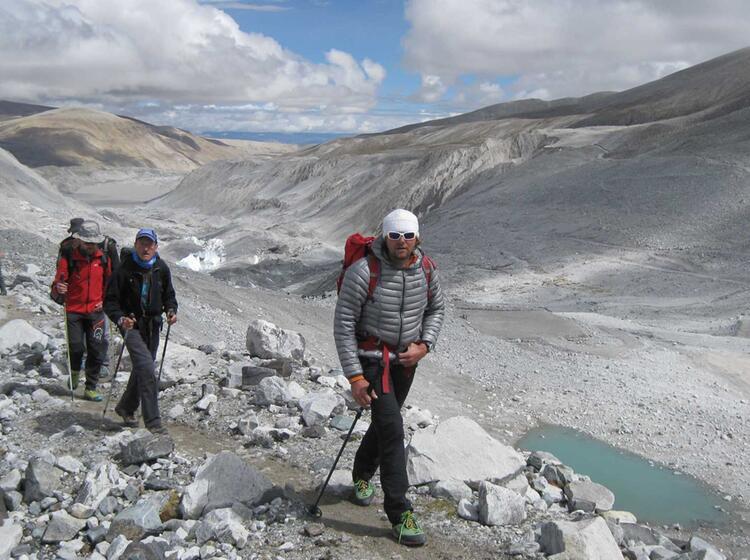 Trekking Ins Basislager Zum Cho Oyu