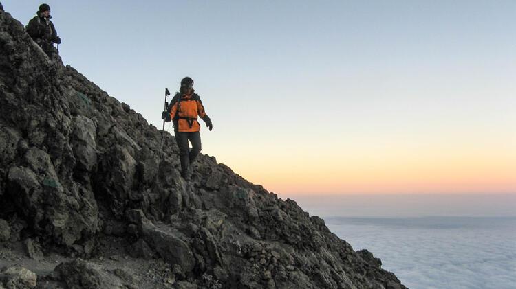 Trekking Mit Bergwanderfuehrerin Angelika Neubauer