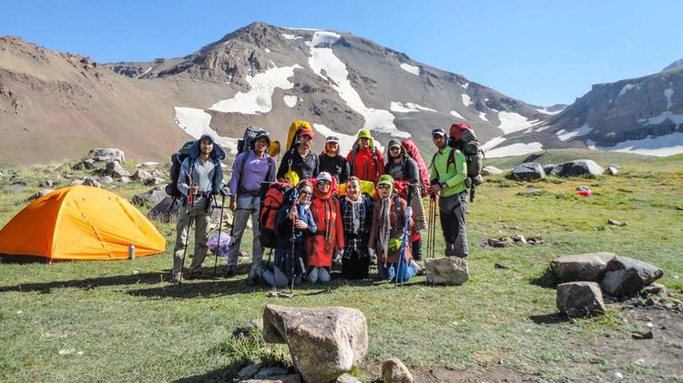 Trekking Reise Zum Damavand Gefuehrt