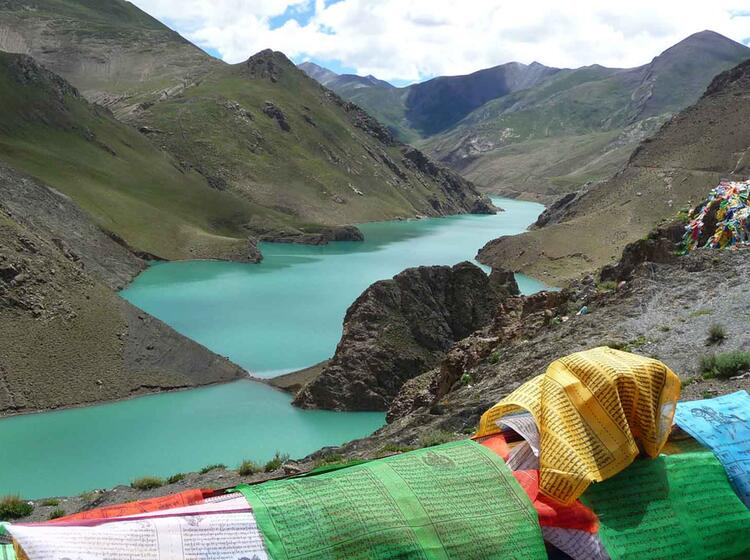 Trekking Zum Basislager In Tibet
